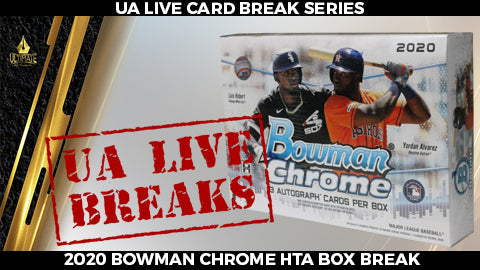 Live Card Break: 2020 Bowman Chrome HTA Jumbo Box Break #1 - 11/1/20 @ 2pm CT