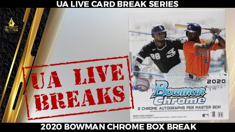 Live Card Break: 2020 Bowman Chrome Hobby Box Break #1 - 11/1/20 @ 2pm CT