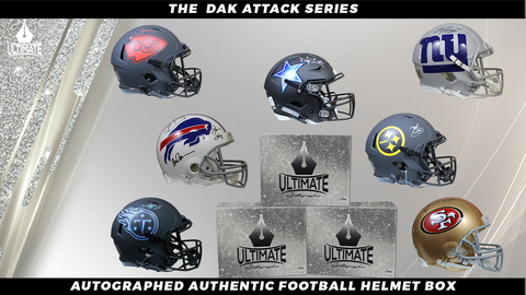 Autographed Authentic Football Helmet Mystery Box - The Dak Attack Series 8/13/20 Live Break #2