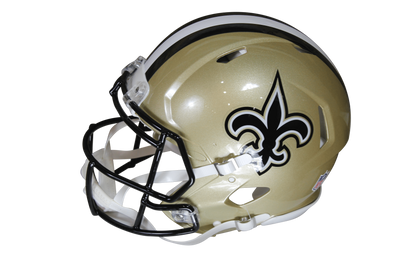 Drew Brees Autographed New Orleans Riddell Speed ProLine w/Beckett COA