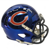 Tarik Cohen Autographed Chicago Bears Blue Chrome Mini Helmet w/ JSA COA
