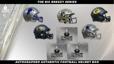 The Ultimate Mystery Box - Special Edition Helmets - Chicago Bears Series