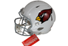 Kurt Warner Autographed Arizona Cardinals White Riddell Speed Proline Full Size Helmet w/ Beckett COA