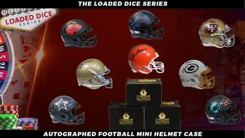 Autographed Football Mini Helmets Mystery Box - The Loaded Dice Series 8/13/20 Live Break #1