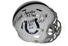 Quenton Nelson Autographed Colts Speed Replica Helmet w/3 Inscriptions