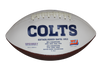 Quenton Nelson Autographed Colts White Panel Football w/JSA COA