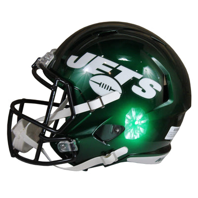 Quinnen Williams Autographed New York Jets Green Riddell Speed Replica Full Size Helmet w/ Beckett COA