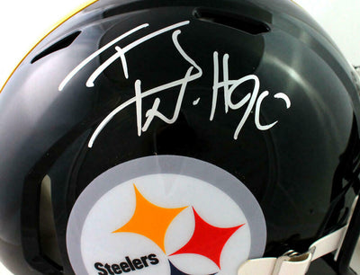 TJ Watt Pittsburgh Steelers Signed Pittsburgh Steelers Full-sized Speed Authentic Helmet (BAS COA)