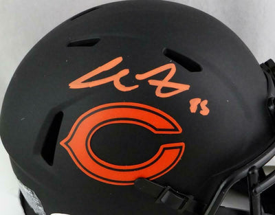 Cole Kmet Chicago Bears Signed Eclipse Speed Mini Helmet (BAS COA)