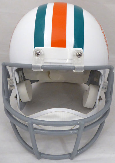 Bob Griese Miami Dolphins Signed Dolphins Full-sized Replica Helmet (BAS COA)