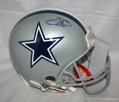 Emmitt Smith Dallas Cowboys Signed F/S ProLine Helmet (JSA COA)