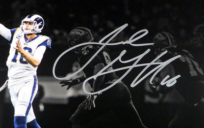Jared Goff Los Angeles Rams Signed 11x14 Photo Rams FAN COA