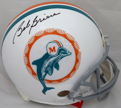 Bob Griese Miami Dolphins Signed Dolphins Full-sized Authentic Helmet (BAS COA)