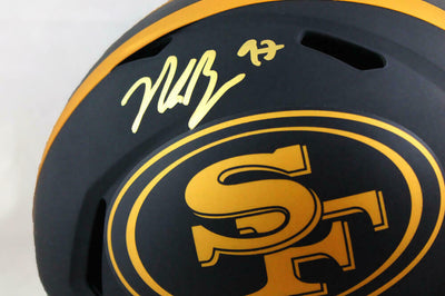 Nick Bosa San Francisco 49ers Signed San Francisco 49ers Full-sized Eclipse Helmet *Red (BAS COA)