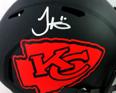 Tyreek Hill Kansas City Chiefs Signed F/S Eclipse Speed Helmet (JSA COA)