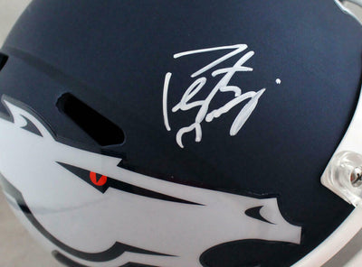 Peyton Manning Denver Broncos Signed F/S AMP Speed Helmet (FAN COA)