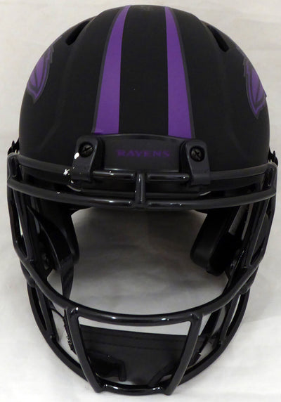 Ray Lewis Baltimore Ravens Signed Eclipse Full Size Auth Helmet (BAS COA)
