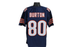 Trey Burton Autographed Chicago Bears Navy Custom Jersey w/ Beckett COA