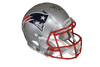 Ty Law Autographed New England Patriots Silver Speed ProLine Full Size Helmet w/ HOF 19 Insc