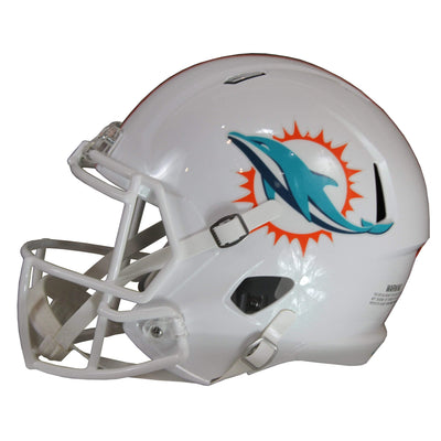 Xavien Howard Autographed Miami Dolphins White Riddell Speed Replica Full Size Helmet w/ PSA COA