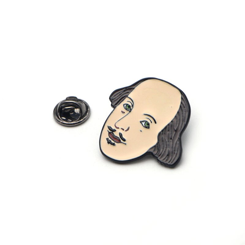 Shakespeare Enamel Pin