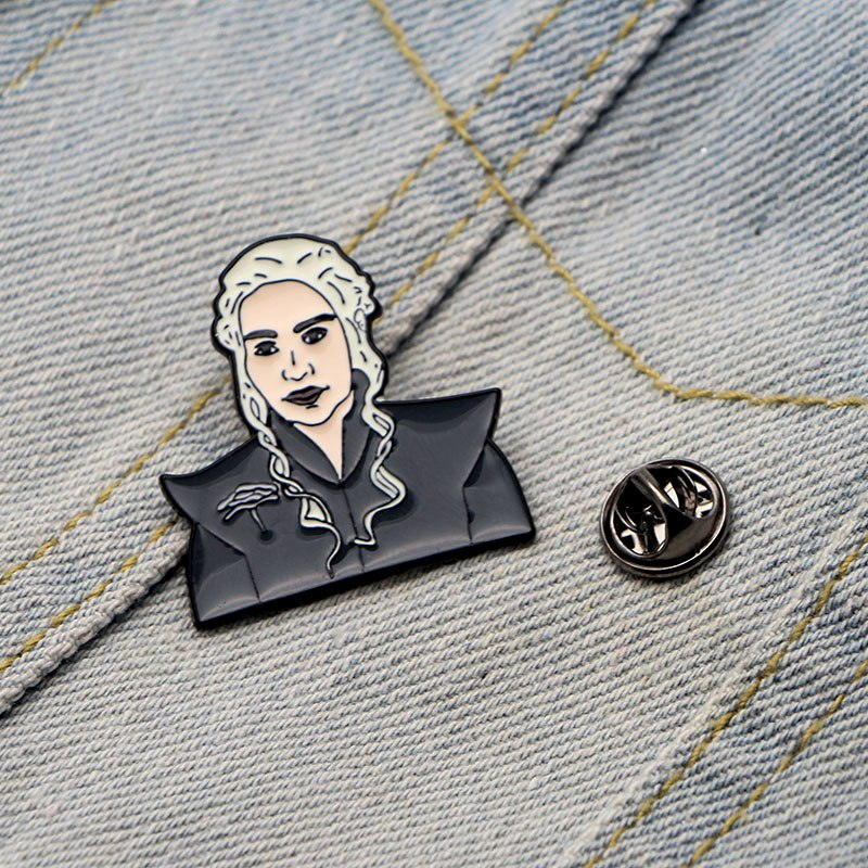 Game of Thrones Mother of Dragons Enamel Pin / Brooch For Dresses Backpack Clothes / Pins Cosplay Hat Pin Brooch