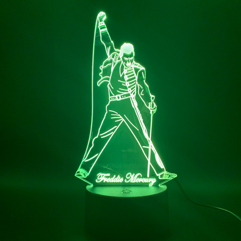 3D Led Stand Lamp