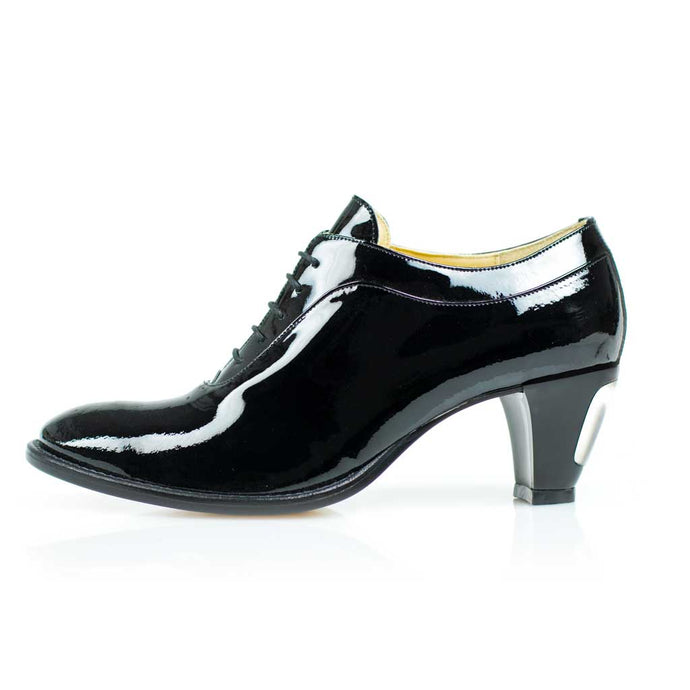 High Heels for Men Brian Black Patent