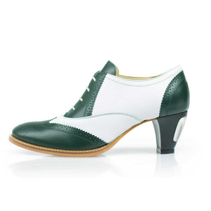 High Heels for Men Jav Green & White