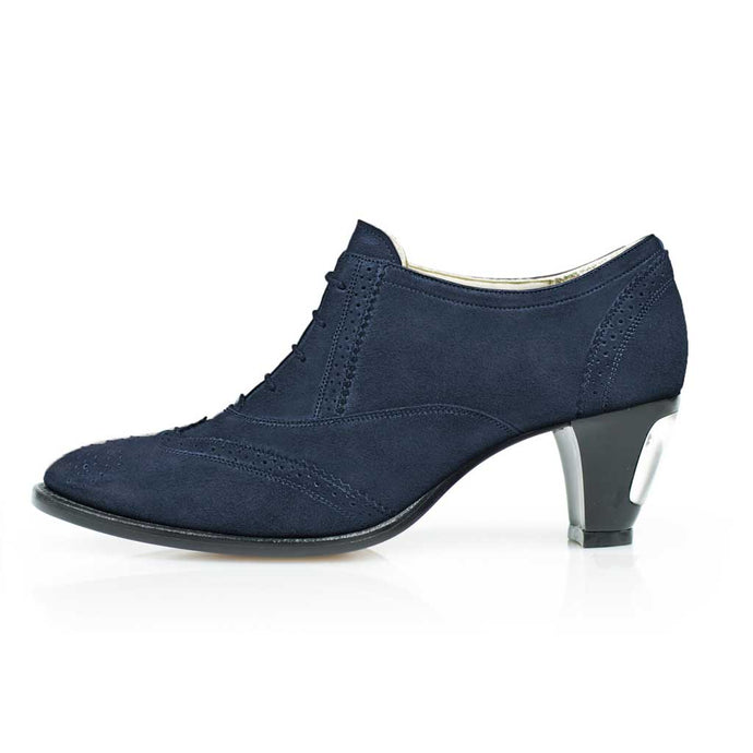 Jav Dark Blue Suede