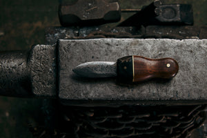blacksmith custom made by hand oyster shuckers for seafood lovers in melbourne australia quality knife 13 knives kitchen