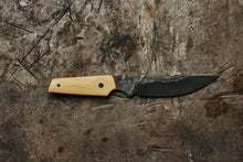 Hand made paring knife forged from high carbon steel by a blacksmith in collingwood melbourne australia. Great for kitchen use by the home chef