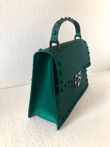 Green Silicone Shoulder Bag