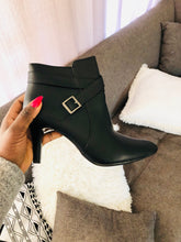 Belt Strap Ankle Boots