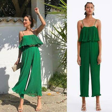 Zara Inspired Pleated Ruffled Jumpsuit