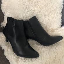 Black Pointy Toe Ankle Boots