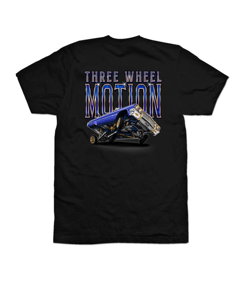 NEW! THREE WHEEL MOTION  shirt/hoodie