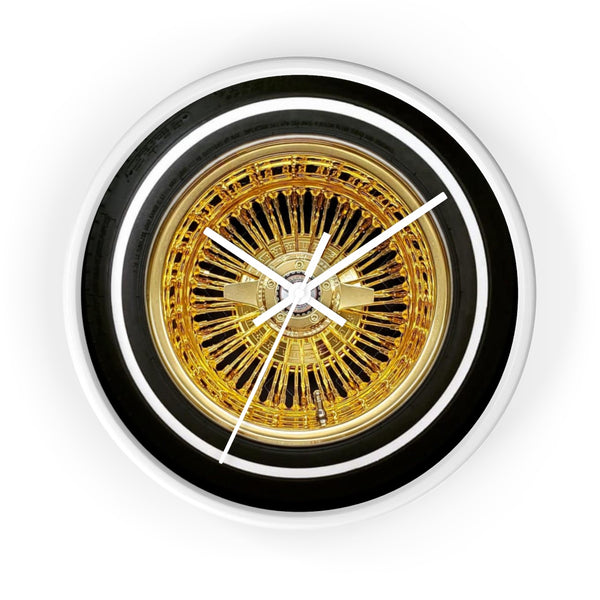 All gold Zs Wall clock