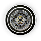 Chrome Zs Wall clock
