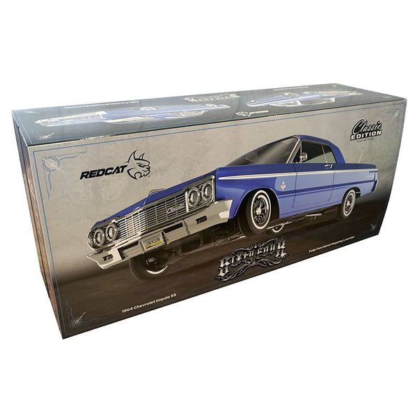 SixtyFour - Fully Functional 1:10 Scale Rc Hopping Lowrider Blue Classic Edition