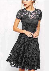 Full Lace Dress - Clairs Closet