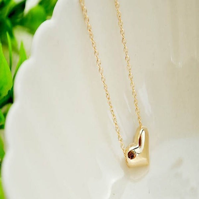 Heart Necklace - Clairs Closet