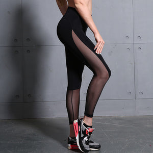 Mesh Leggings - Clairs Closet
