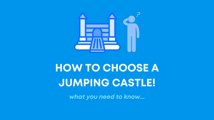 How to choose a jumping castle!