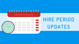 Hire Period Updates