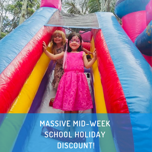 SCHOOL HOLIDAY DISCOUNTS!