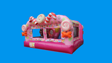 Load image into Gallery viewer, Candy Wonderland Theme Jumping Castle, Sydney Jumping Castle Hire - Side 2