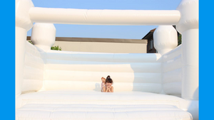 White Jumping Castle - Small