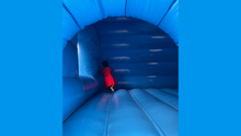Load image into Gallery viewer, Superhero Combo Jumping Castle