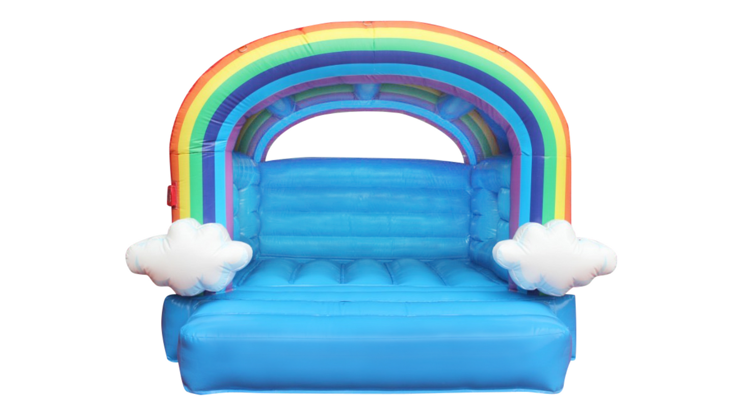 Rainbow Jumping Castle